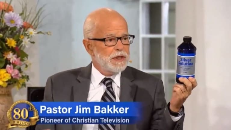 Jim Bakker Is Selling Colloidal Silver As A Cure For The Coronavirus