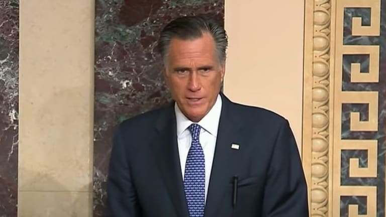 """Mitt Romney: Trump Has Caused An """"Insurrection"""" Against The United States"""