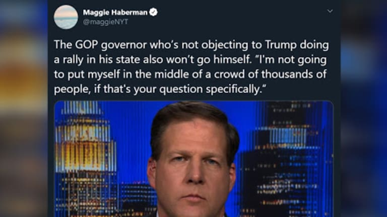 New Hampshire's GOP Governor Defends Trump's Rally But Doesn't Plan To Attend