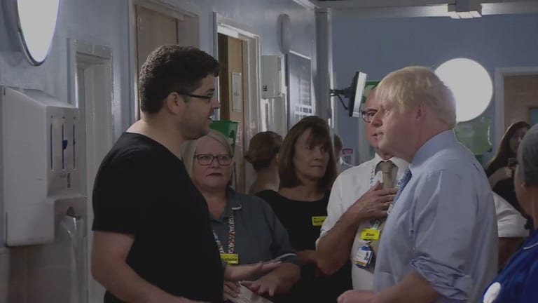 Father Of Sick Child Confronts British PM For Supporting Destruction Of NHS