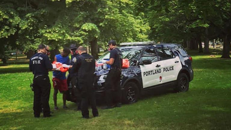 Two White Men Beat Black Man With Baseball Bats In Oregon Park