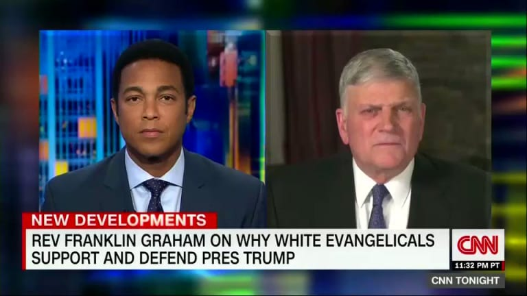 Franklin Graham: Trump Stopped Sinning When He Became President