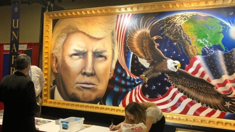 MAGA Artist Sues The Smithsonian For Not Putting Up His Pro-Trump Painting