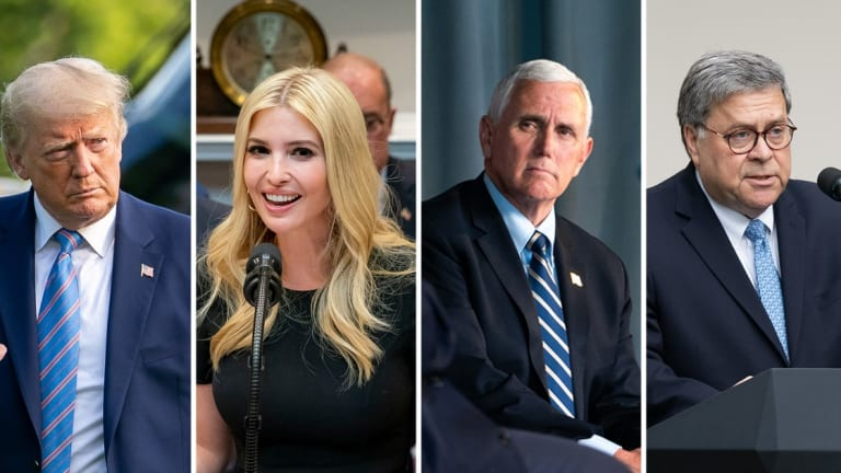 Report: Mike Pence, Donald Trump, Ivanka, And Bill Barr Have All Voted By Mail