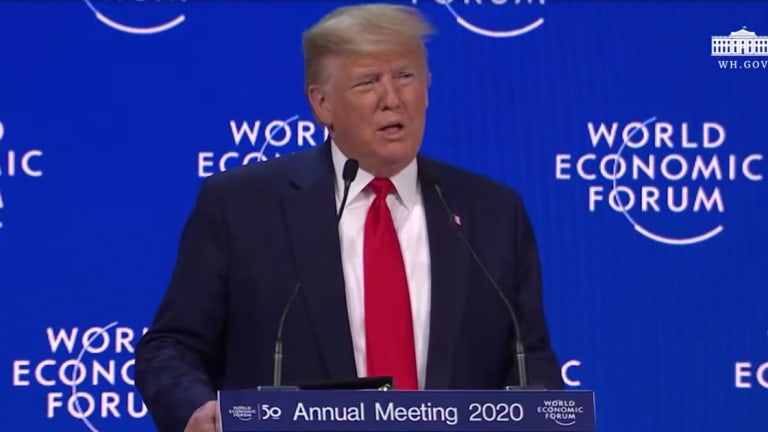 WATCH: At Davos, Trump Downplays Traumatic Brain Injuries Suffered By US Troops