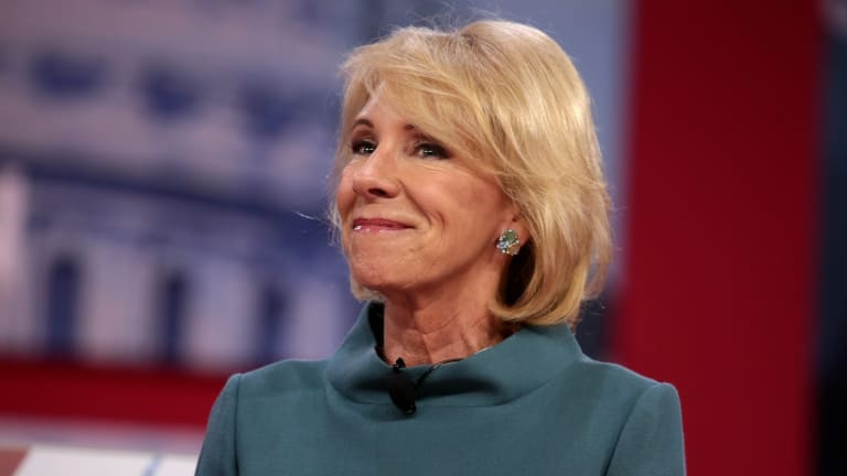 Migrant Children Are Being Given To An Adoption Agency Linked To Betsy DeVos