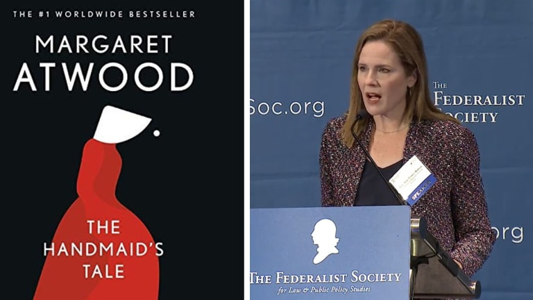 Barrett's Extreme Religious Views May Have Inspired 'The Handmaid's Tale'