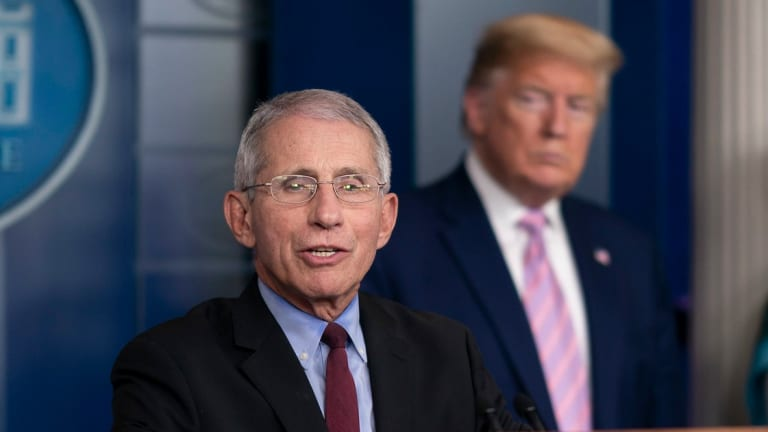 White House Blocks Dr. Fauci From Testifying Before Congress Next Week
