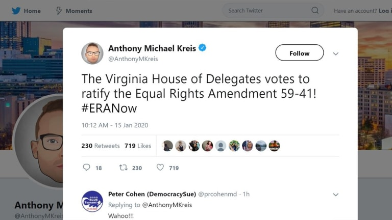 Virginia Votes To Ratify Equal Rights Amendment, Something Decades In The Making