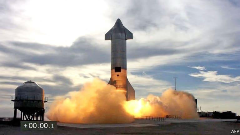 SpaceX Test New Prototype