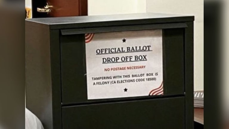 Calif. Issues Cease-And-Desist To GOP Over Illegal Unofficial Ballot Drop Boxes
