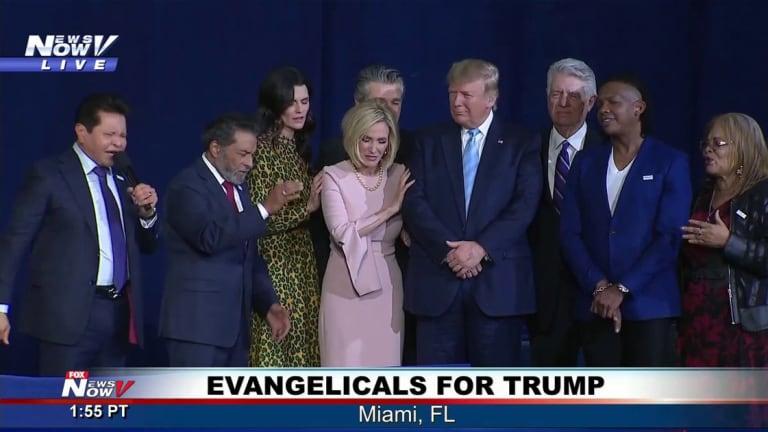 Pew Research: ⅔ Of U.S. Evangelicals Believe Biblical Law Should Trump Democracy