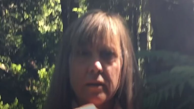 WATCH: White Woman Scolds Asian Family For Bringing Dog On Hiking Trail