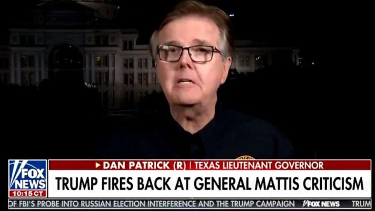 """TX Lt. Gov. Dan Patrick: You Can't Fix Racism """"Unless You Accept Jesus Christ"""""""
