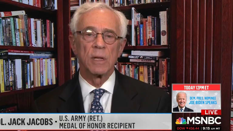 On Air, Medal Of Honor Winner Confirms Trump Has Routinely Disparaged Military