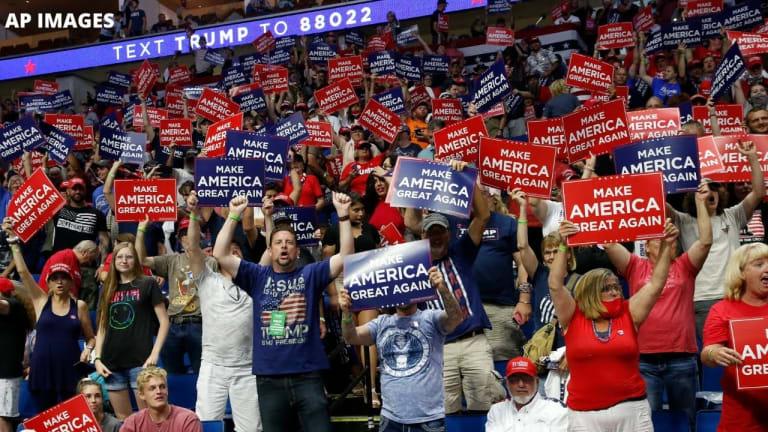 Woman Brought Newborn Baby, W/O Mask, to Trump's Tulsa Rally