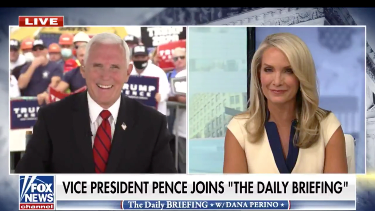 WATCH: Mike Pence Claims He Didn't Notice Fly On His Head, Does Fake Belly Laugh