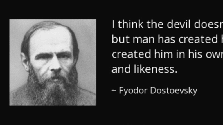 Fyodor Dostoevsky On The Nature Of Evil In The World