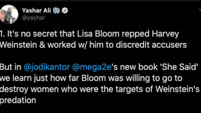 Attorney Lisa Bloom Was Reportedly Hired By Weinstein To Destroy His Victims