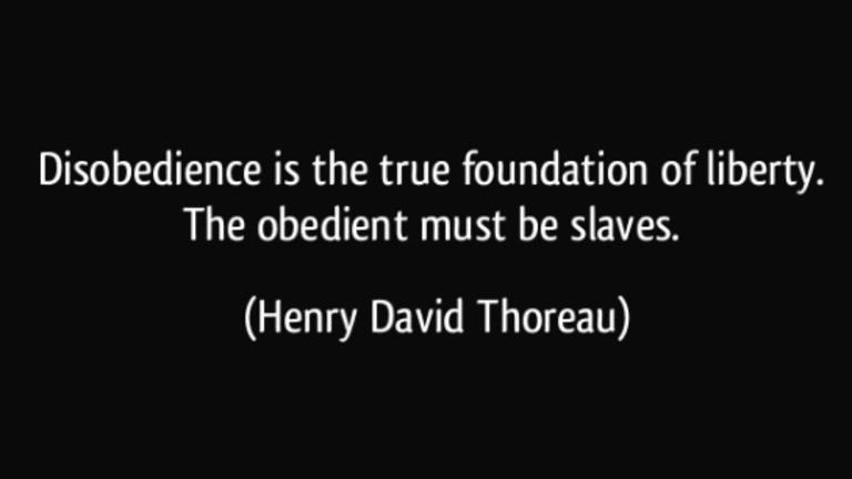 Henry David Thoreau On Disobedience And Liberty