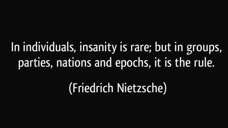 Friedrich Nietzsche On The Dangers Of Mob Psychology