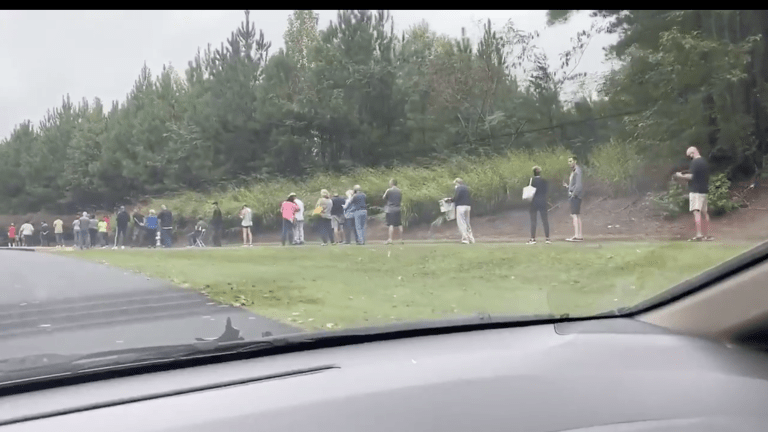WATCH: In Georgia, Long Voting Lines Show Voter Suppression In Plain Sight