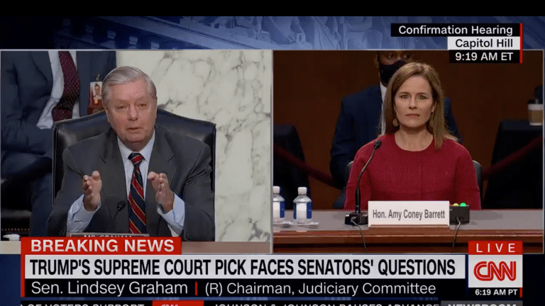 During Nomination Hearing, Graham Whines About Being Outraised By His Opponent
