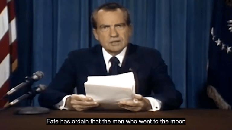 Watch this deepfake of Nixon announcing Apollo 11 disaster (that never happened)